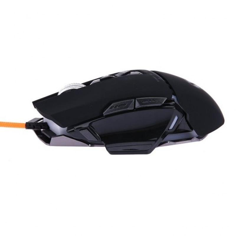 Компьютерная игровая мышь, мышка Zornwee GX10 с подсветкой Чёрный - Фото 2