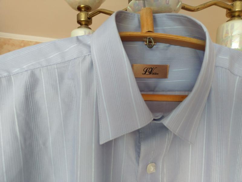 Английская фирменная мужская рубашка l&victor.