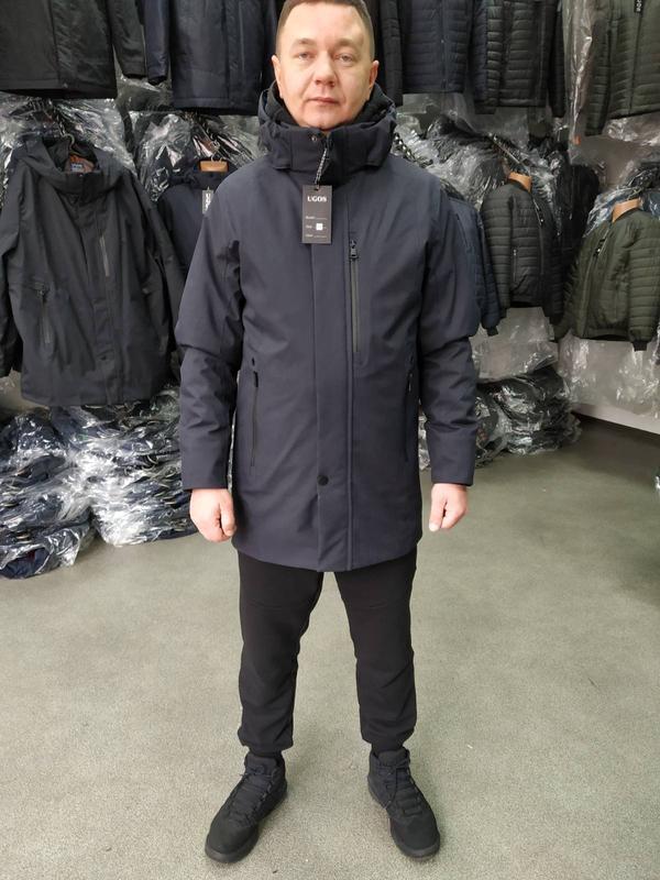 Мужская демисезонная куртка от производителя - Фото 5