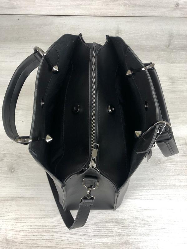 Стильная сумка на три отделения с кошельком - Фото 7