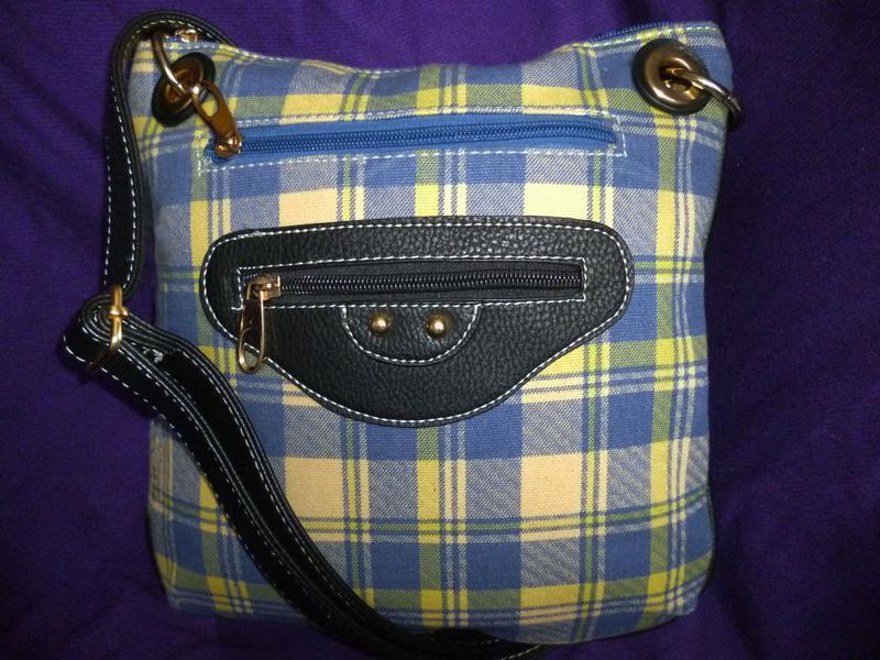 Стильная сумка планшетка ткань