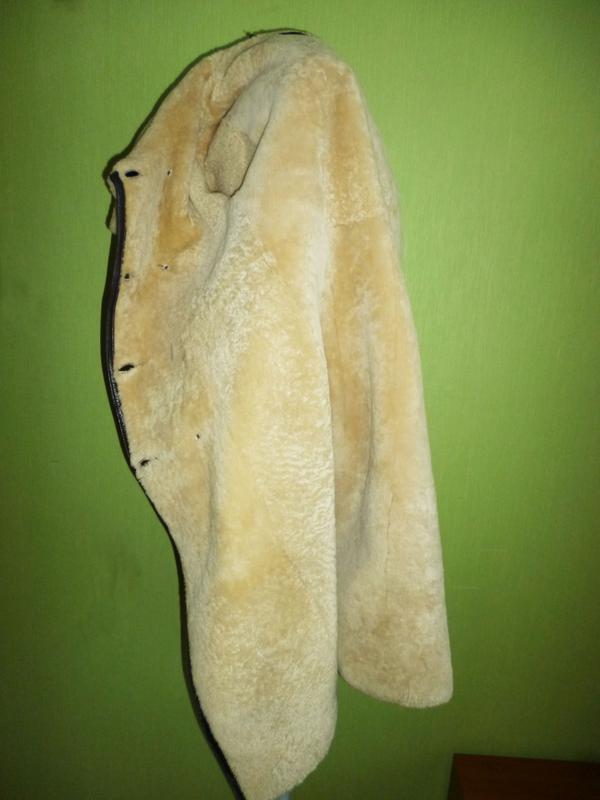 Шикарная натуральная дубленка - Фото 5