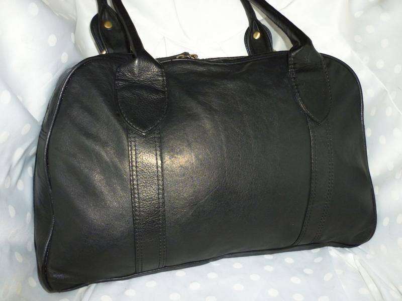 Стильная большая сумка натуральная кожа f&f - Фото 2