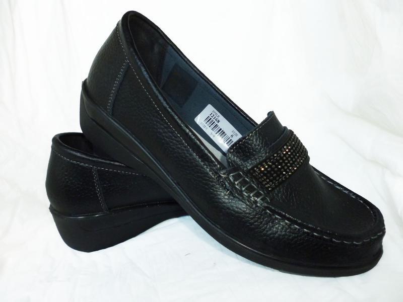 Стильные туфли натуральная кожа