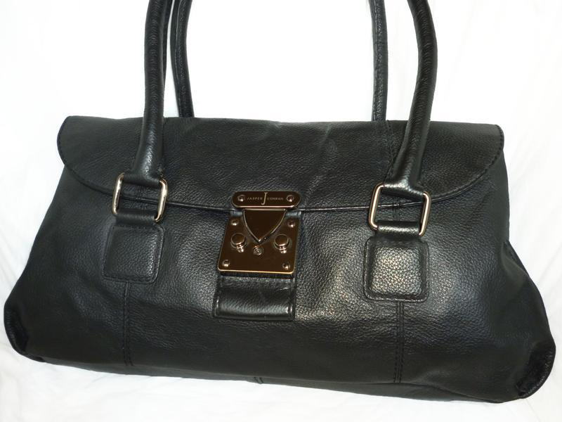 Стильная сумка натуральная кожа jasper conran