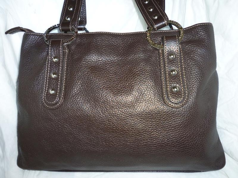 Стильная вместительная сумка натуральная кожа navyboot