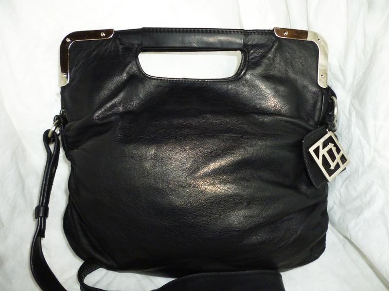 Стильная сумка натуральная кожа kristyx