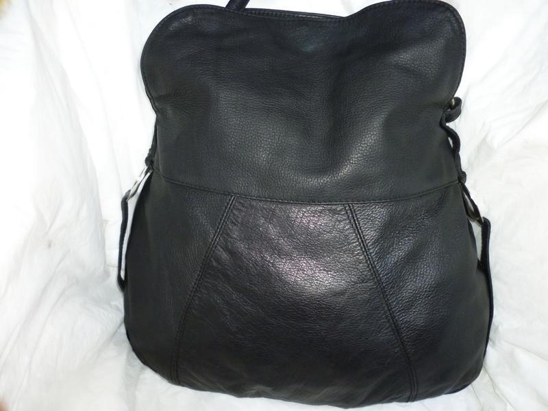 Стильная большая сумка натуральная кожа oriano