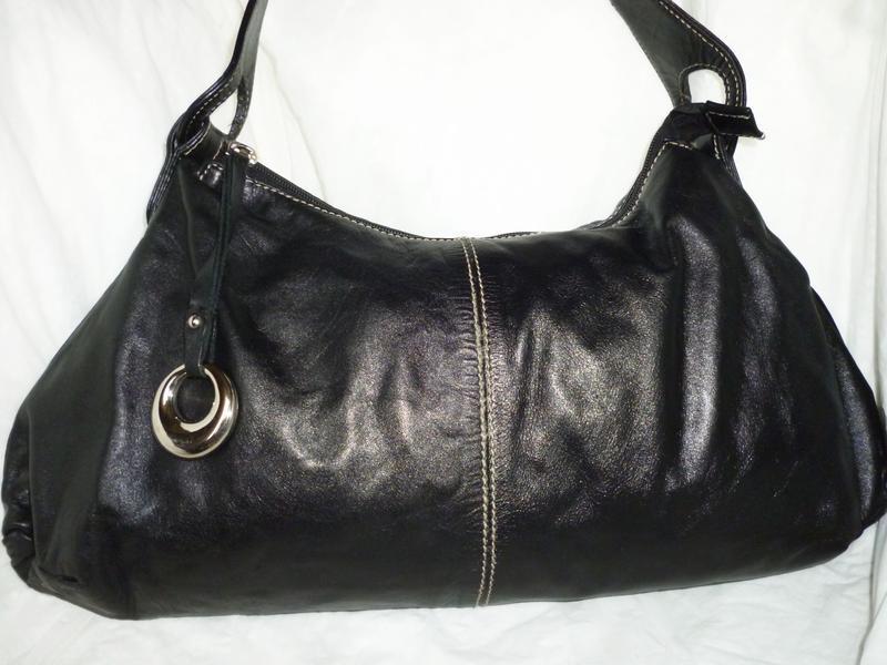 Стильная вместительная сумка натуральная кожа van dal