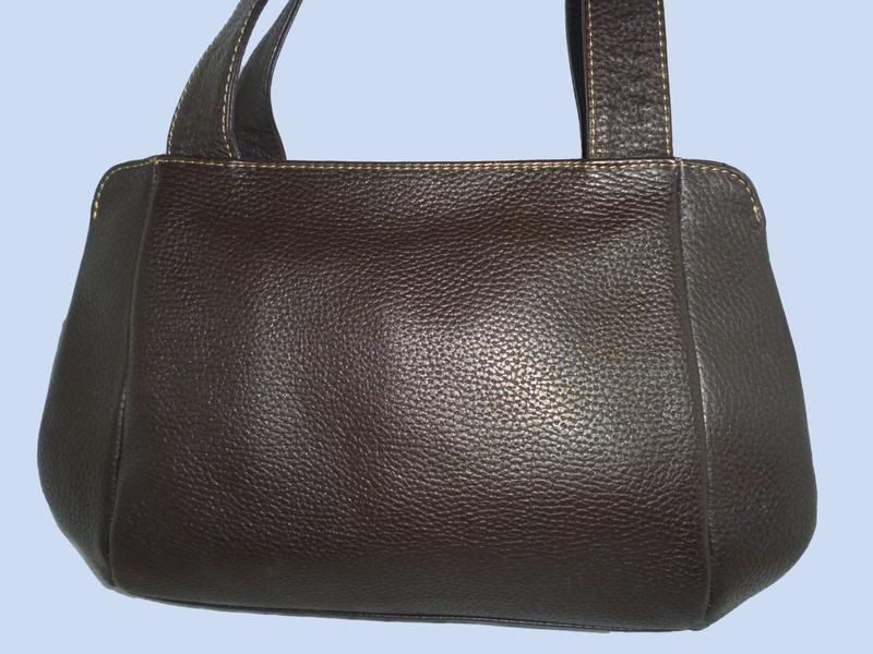 Стильная вместительная сумка натуральная кожа maestro
