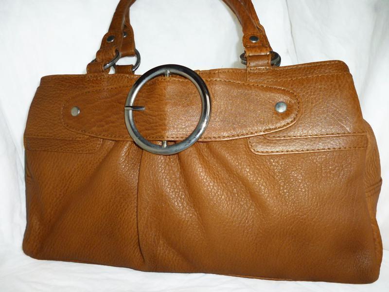 Стильная вместительная сумка натуральна кожа tommy&kate