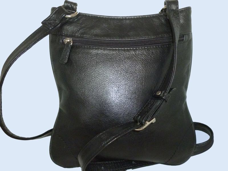 Стильная сумка натуральная кожа - Фото 2