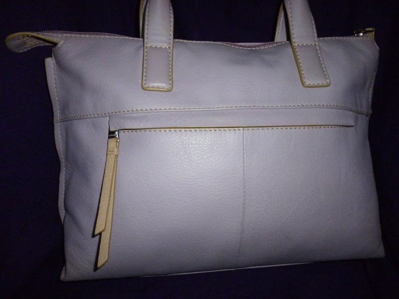 Стильная вместительная  сумка натуральная кожа bree - Фото 2