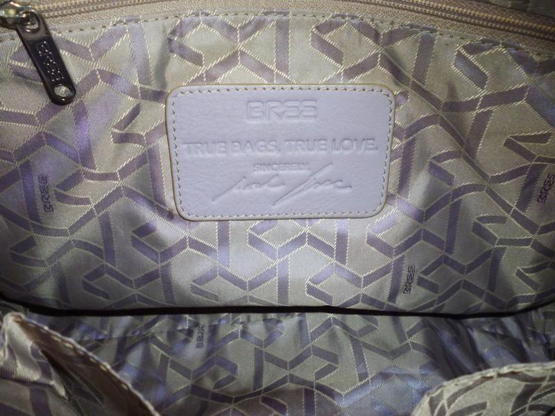 Стильная вместительная  сумка натуральная кожа bree - Фото 5