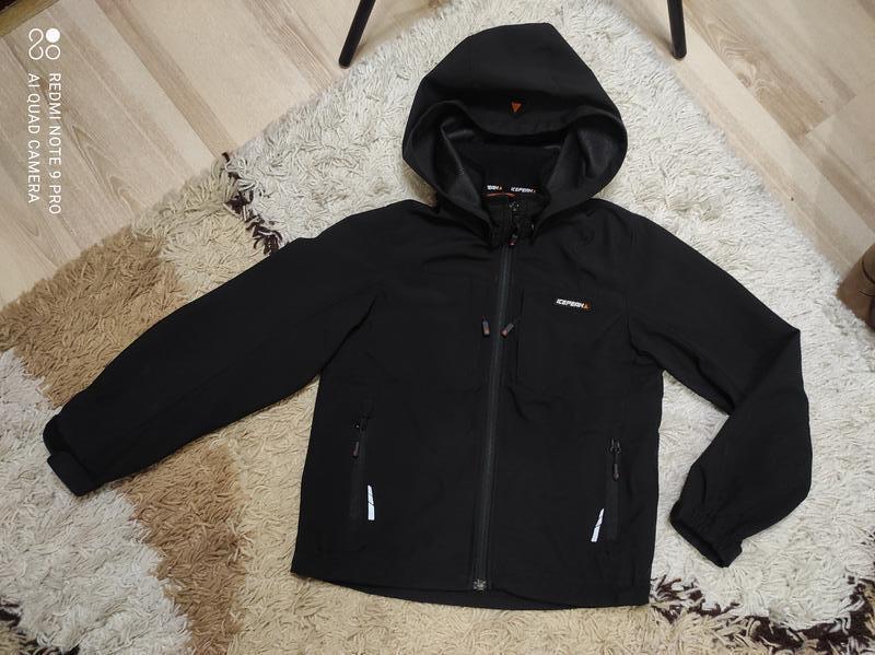 Легкая весенняя куртка ветровка дождевик icepeak на 7-8 лет