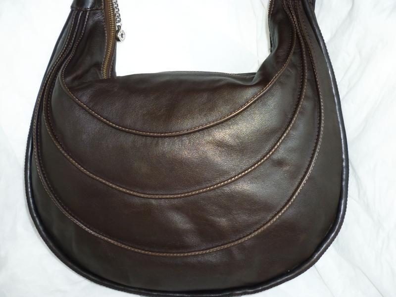 Стильная вместительная сумка натуральная кожа  cobo