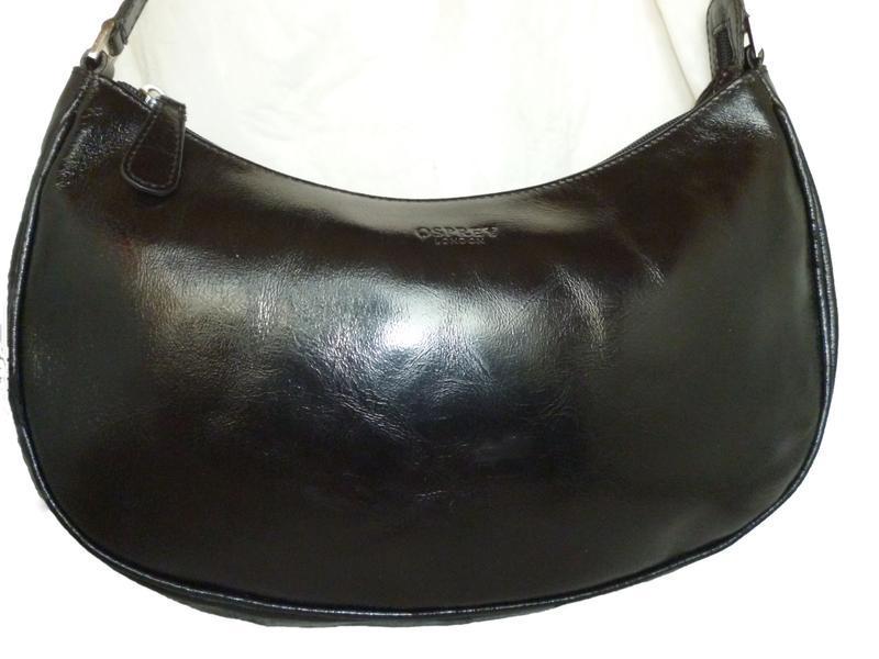 Стильная сумка натуральная кожа osprey лондон