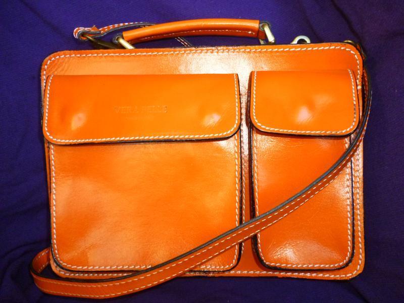 Шикарная яркая летняя сумка натуральная кожа vera pelle италия