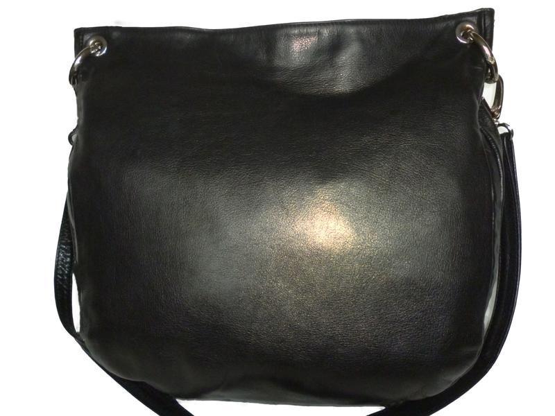 Стильная большая сумка натуральная кожа mephisto италия