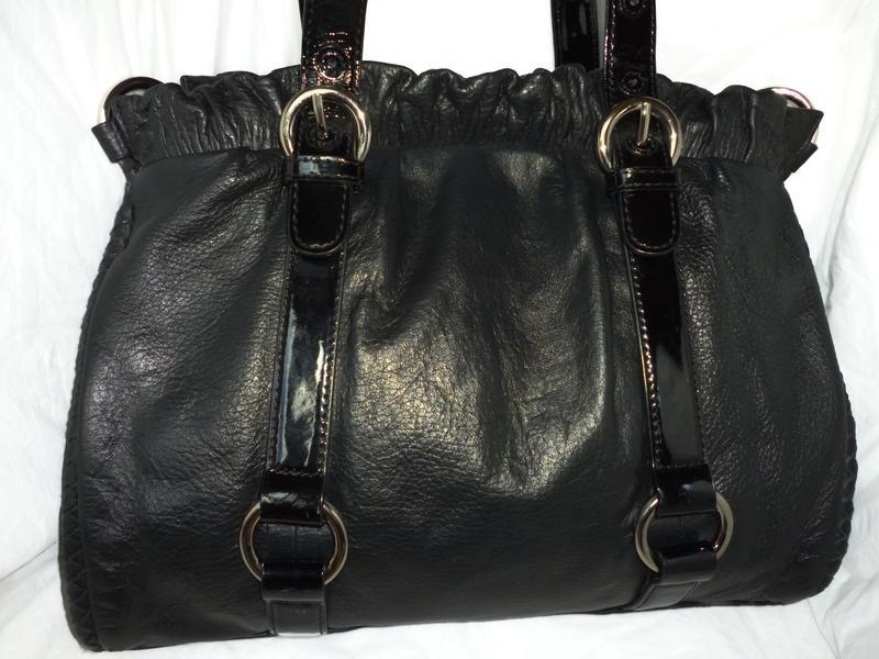 Шикарная большая сумка натуральная кожа viyella - италия
