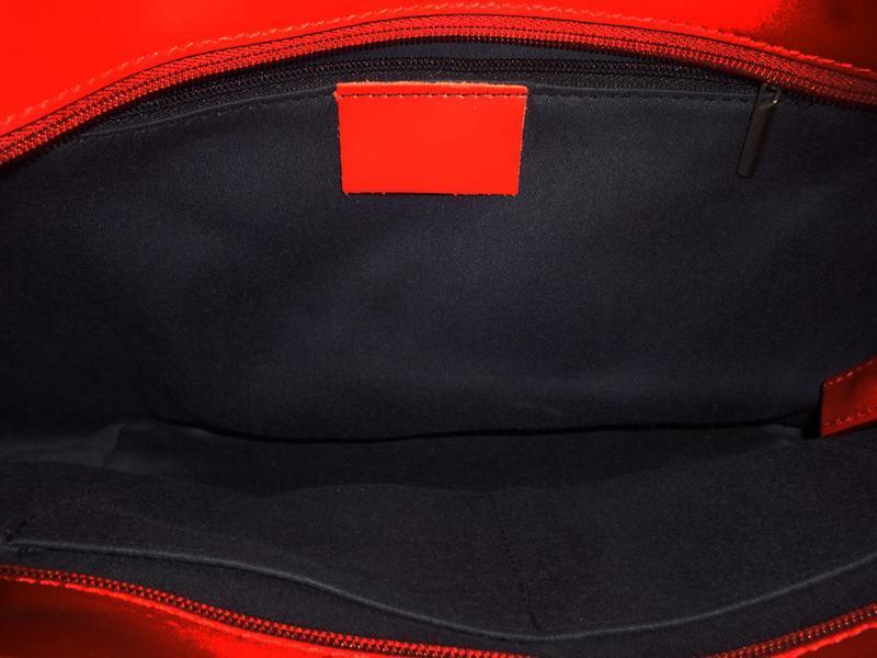 Шикарная большая сумка натуральная кожа - Фото 5