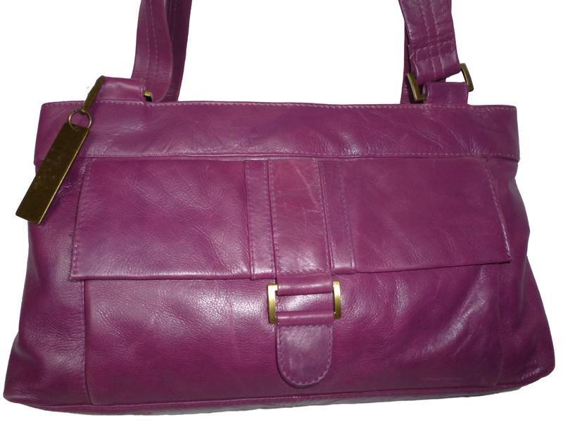 Стильная сумка натуральная кожа mia