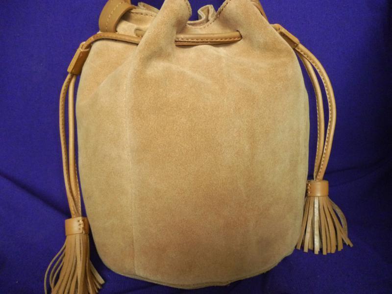 Стильная вместительная сумка натуральная кожа mint&berry - Фото 2