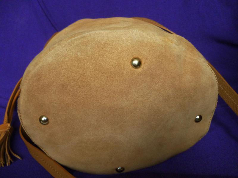 Стильная вместительная сумка натуральная кожа mint&berry - Фото 3