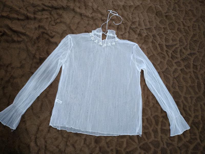 Женская блуза с жемчугом - Фото 2