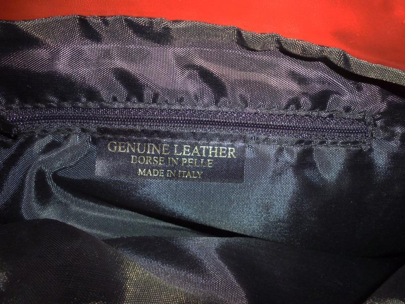 Стильная вместительная сумка натуральная кожа borse in pelle  ... - Фото 6
