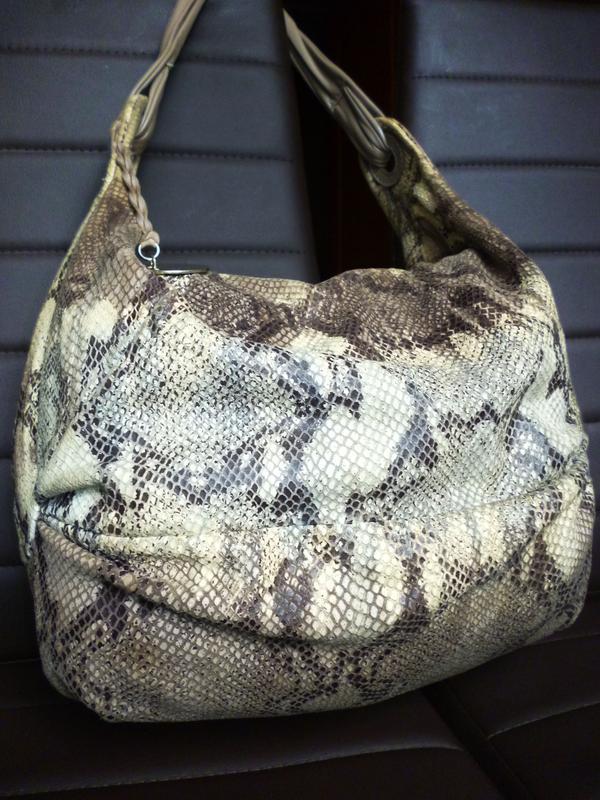 Vip!  шикарная дизайнерская большая  сумка натуральная кожа lu...