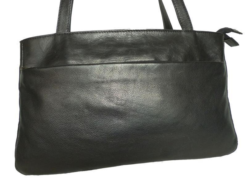 Стильная вместительная сумка натуральная кожа fashion