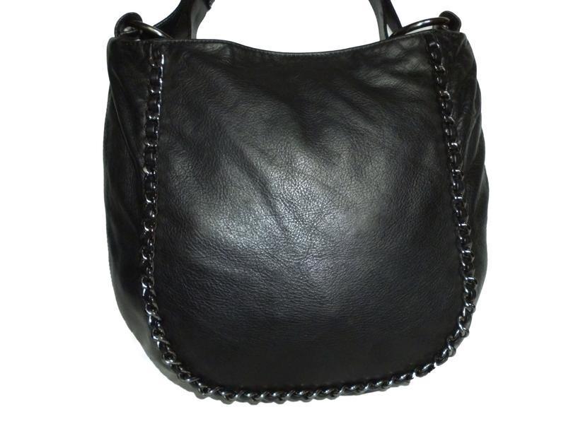 Стильная вместительная сумка натуральная кожа - Фото 3