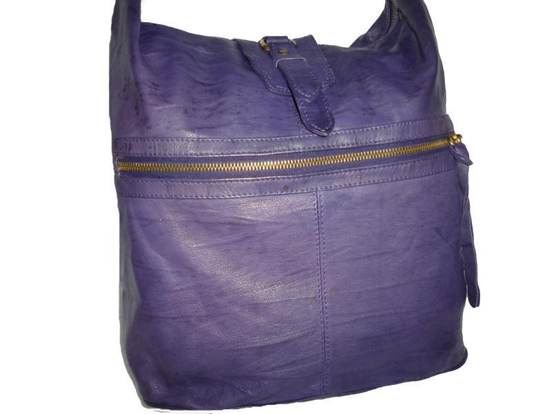 Стильная большая сумка натуральная кожа topshop