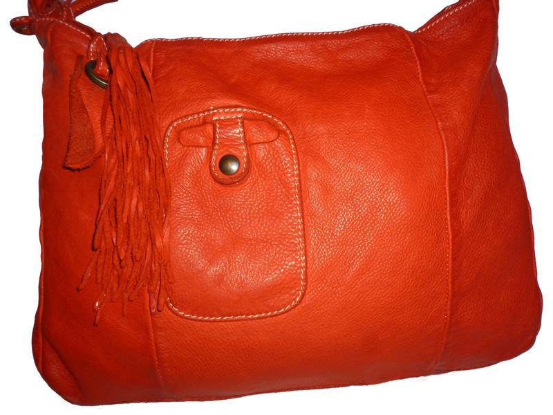 Стильная большая сумка натуральная кожа caterina lucchi италия