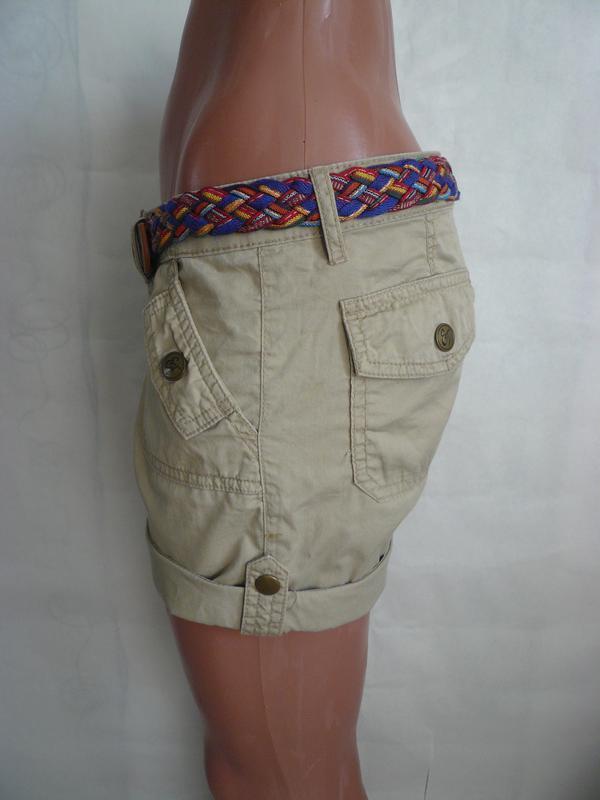 Котоновые шорты eric chreads р 10-12 - Фото 2