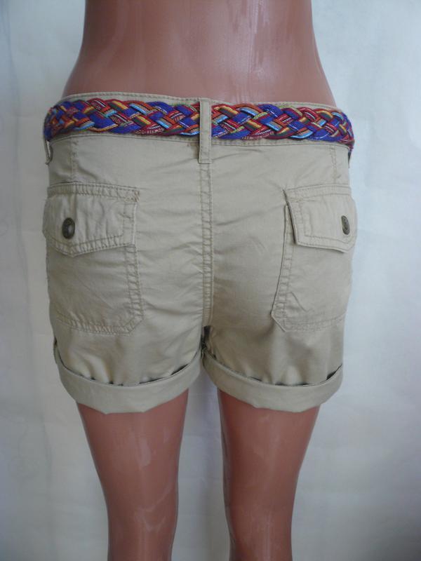 Котоновые шорты eric chreads р 10-12 - Фото 3