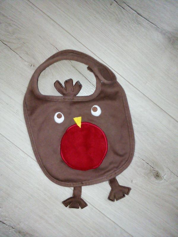 Слюнявчик для птенца