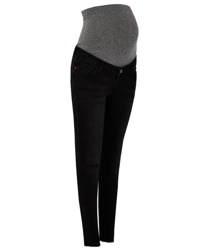 Стильные рваные джинсы для будущих мам - Фото 9