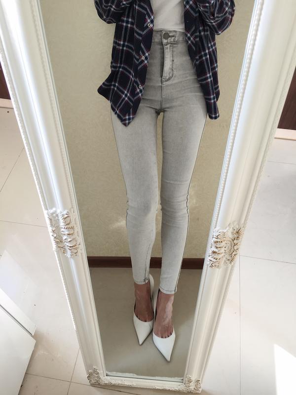 Полная распродажа! 💥skinny. джинсы скинни с высокой посадкой