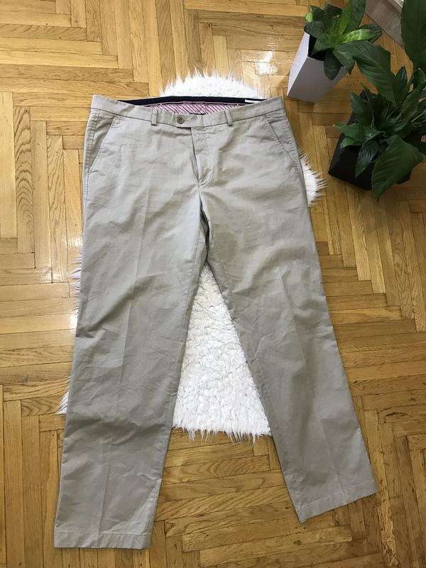 Брюки штаны мужские светлые большой размер батал  весенние лег...