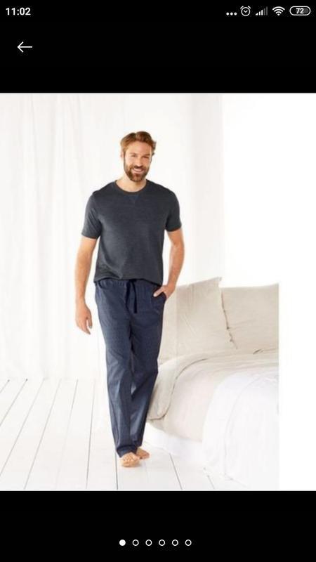 Классная трикотажная пижама/домашний костюм ххл 60/62 европейс...