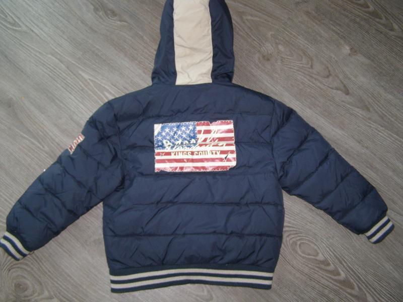 Стильная курточка на пуху зима мальчику tdm 966 by 02 tandem  ...