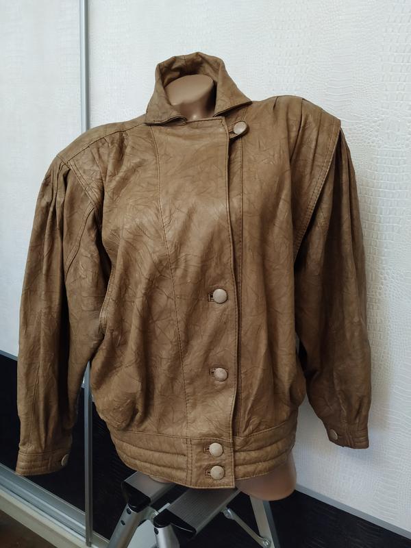 Винтажная кожаная куртка buffalo