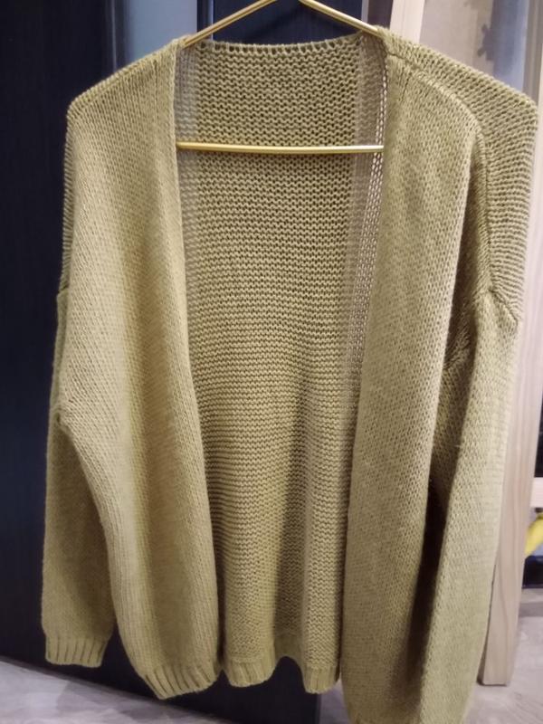 Короткий кардиган (свитер) - Фото 2