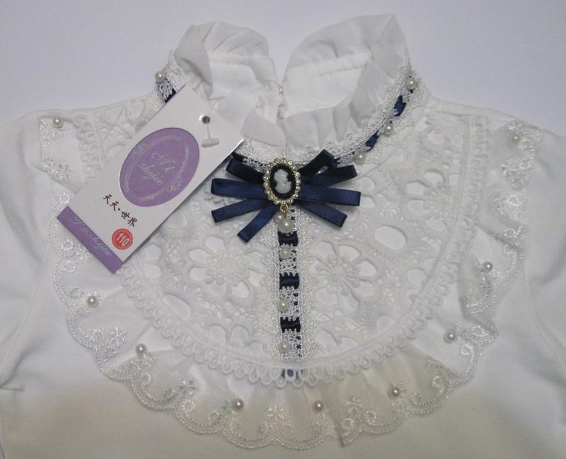 Детская блуза на девочку (110 см - 150 см) - Фото 3