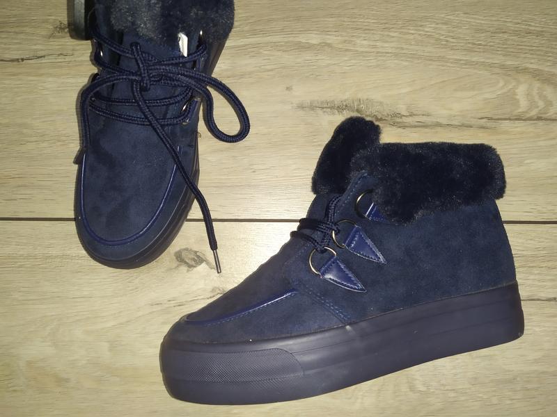Зимние сапожки ботинки девочке зима на меху