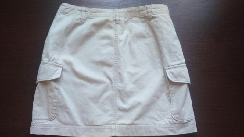 Плотная светлая юбка gap , одежда в стиле кэжуал - Фото 5