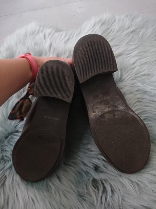 Невероятные кожаные ботинки - Фото 8