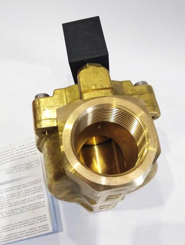 "Клапан электромагнитный 18010-07-45-B н/з 1""1/2 - Фото 2"